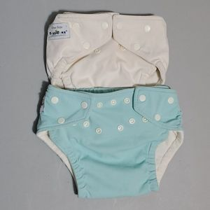🦋$6 or  6/$20  FUZZY BUNZ one size Diapers